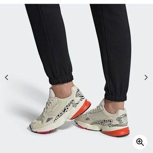 Falcon animal print sneakers